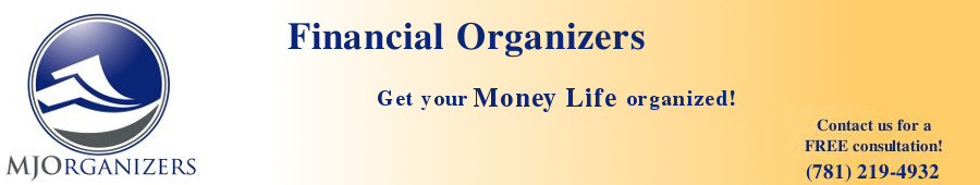 MJOrganizers: Financial Organizers - Helping individuals and      small business owners organize their finances.